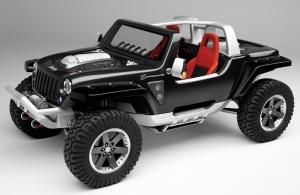 2005 Jeep(R) Hurricane concept vehicle.